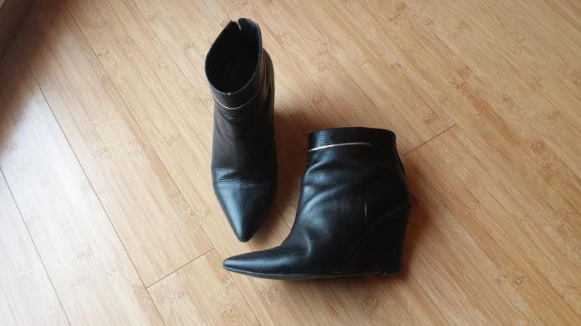 Low boots compensées Minelli