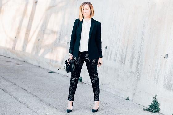 Pantalon brodé - look du 31 popup'image