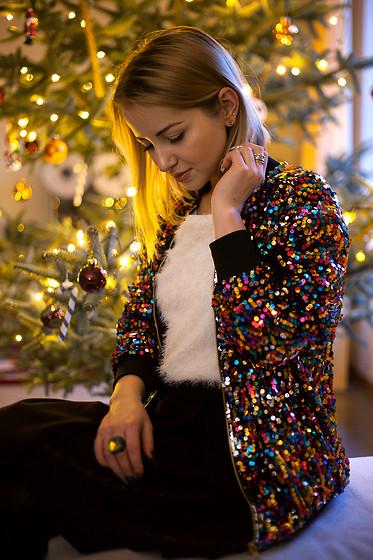 trousers H&M - look de fêtes Popup'Image